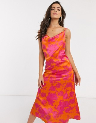 AX Paris cowl front cami dress