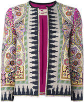 Etro Indian print jacket - women - Silk/Cotton/Linen/Flax/Acetate - 46