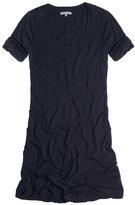 Rolled Sleeve T-Shirt Dress