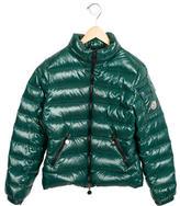 Moncler Boys' Down Long Sleeve Jacket