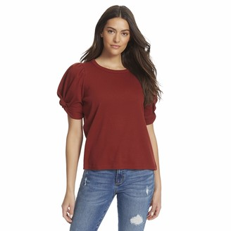 Ella Moss Women's Linnea Twist Short Sleeve Top