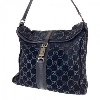 Gucci \N Black Suede Handbags