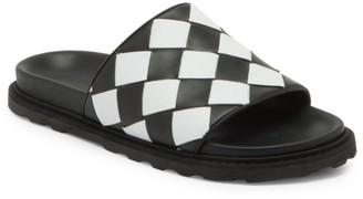 Bottega Veneta Intrecciato Speedster Leather Slide Sandals