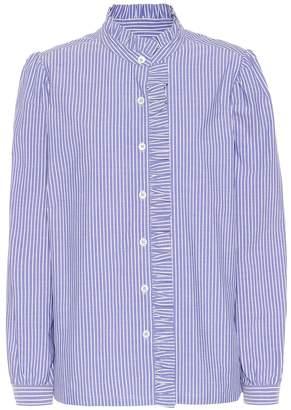 A.P.C. Dunst striped cotton blouse