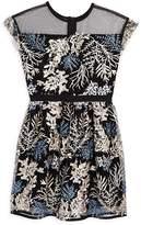 Aqua Girls' Embroidered Mesh Dress, Big Kid - 100% Exclusive