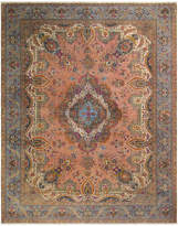 Arshs' Fine Rugs Color Reform Vintage Gregg Hand-Knotted Wool Persian Rug