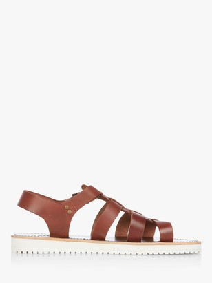Bertie Import Leather Sandals