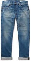 orSlow 107 Slim-Fit Washed Selvedge Denim Jeans