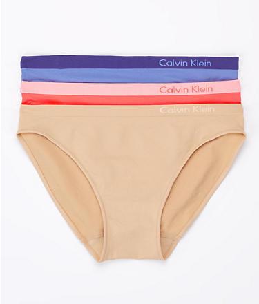 Calvin Klein Pure Seamless Bikini 3-Pack