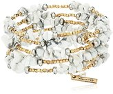 "Kenneth Cole New York Palm Desert"" Semiprecious Chip Bead Coil Bracelet"