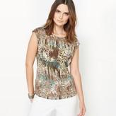 Anne Weyburn Printed Jersey T-Shirt