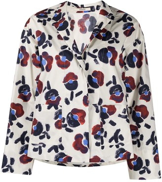 Odeeh Floral Print Blouse