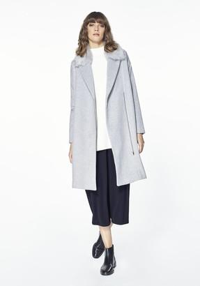 Paisie Grey Coat - Grey