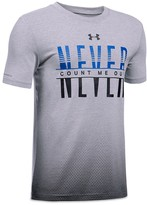 Under Armour Boys' Never Count Me Out Tee - Big Kid