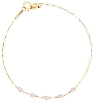 PERSÉE 18kt Yellow Gold Pink Sapphire Bracelet