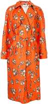 Emilia Wickstead Yves floral print trench coat