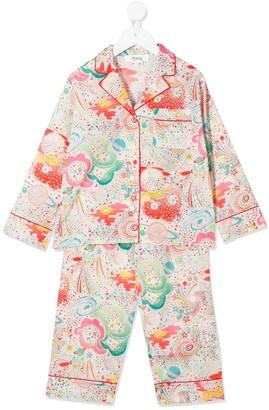 Bonpoint All-Over Print Pyjama Set