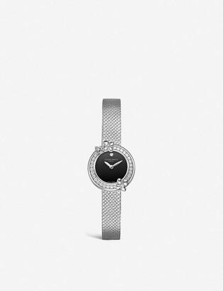 Chaumet Hortensia Eden steel and diamond watch