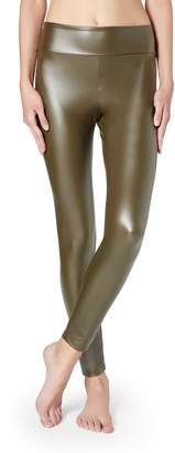 Calzedonia Leather Effect Leggings