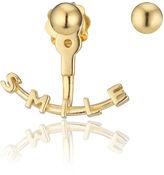 Smith/Grey Gold Circular Hoop Ear jacket