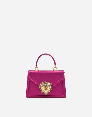 Dolce & Gabbana Small Satin Devotion Bag