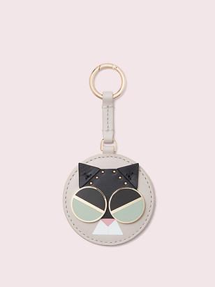 Kate Spade Spademals Smitten Kitten Dangle Keychain