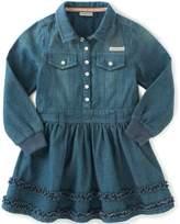 Calvin Klein Baby Girls' Long Sleeve Denim Dress and Panty