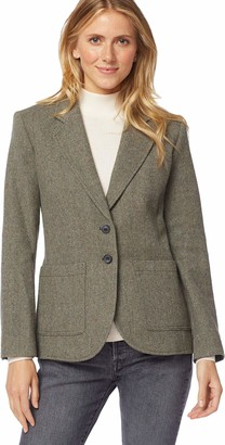 Pendleton Woolen Mills Pendleton Women's Brynn Patch Pocket Wool Blazer