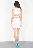 Parker Zelda Dress in White