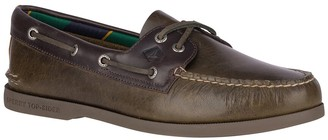 Sperry Authentic Original 2-Eye Plush Varsity Leather Boat Shoe