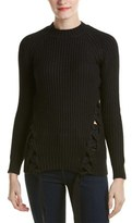 Style Stalker STYLESTALKER Stylestalker Granite Lace-up Sweater.
