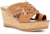 Donald J Pliner Flore Leather Wedge Sandal