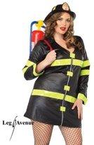 Leg Avenue Fire Woman Costume - Plus Size - Dress Size 16-20