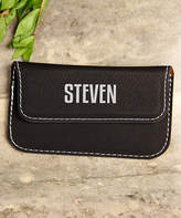 Cabany Co Card Holders Black - Black First Personalized Business Card Holder