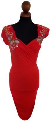 La Perla Red Cotton - elasthane Dresses