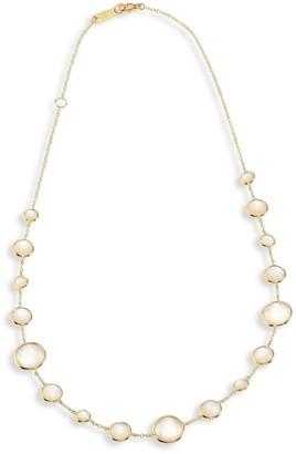 Ippolita Rock Candy Lollipop Clear Quartz & 18K Yellow Gold Short Necklace