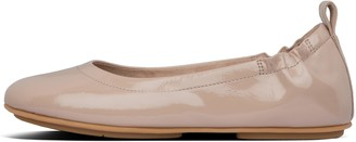 FitFlop Allegro Crinkle-Patent Ballet Flats