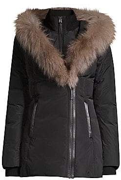 Mackage Women's Adali-X Fox Fur Collar Down Coat