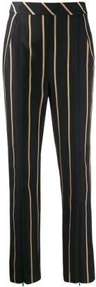 Self-Portrait tailored striped pattern trousers