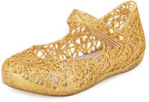 Mini Melissa Mini Campana Zigzag VI Mary Jane Flat, 5T-10T