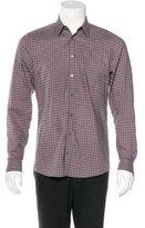 Gucci Plaid Woven Shirt