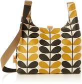 Orla Kiely Stem Check Print Midi Sling Bag