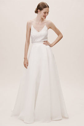 Jenny Yoo Peri Organza Skirt