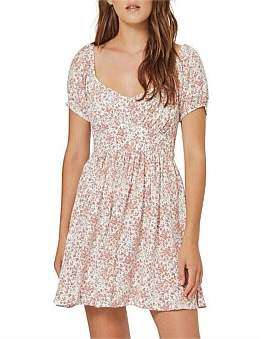 AUGUSTE Gemima Bonne Mini Dress Off White