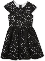 Rare Editions Textured Floral Dress, Big Girls (7-16)