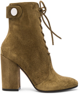 Gianvito Rossi Suede Lace Up Boots