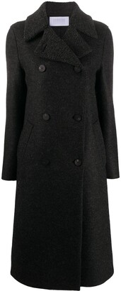 Harris Wharf London Double-Breasted Wool Coat