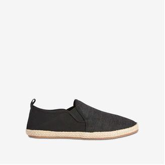Joe Fresh Men's Slip-On Espadrille Shoes, Navy (Size 10)