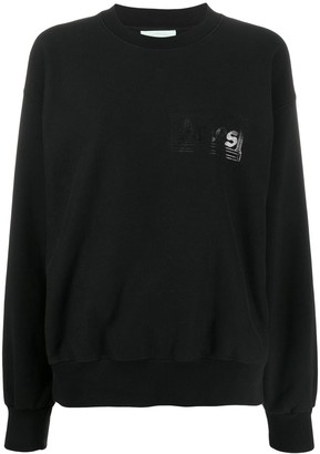 Aries Foil Logo Jumper