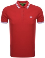 BOSS GREEN Paddy Polo T Shirt Red